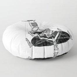 Devil's Moonshine Floor Pillow