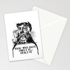 Vintage Thou who hast smelt it, dealt it  Stationery Cards