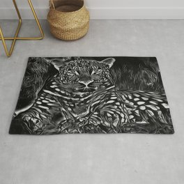 Big Cat Models: Leopard Laze 01-02 Rug