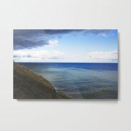 A Quiet Ocean Metal Print