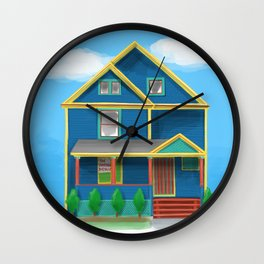 The Garden District house - Warren Ohio 100 Wall Clock