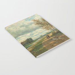 Landscape in the Environs of The Hague - Willem Roelofs (I) (1870-1875) Notebook