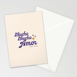 Mucho mucho amor Stationery Cards