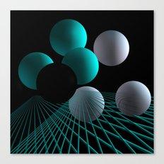 converging lines -2- Canvas Print