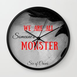 Someone's Monster Wall Clock