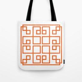 Oriental Pattern Tote Bag