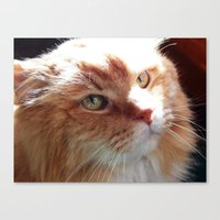 tigger Canvas Prints featuring Tigger by ACamp