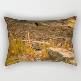 Parys Mountain Windmill Anglesey Wales Rectangular Pillow