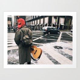 Street Music Art Print