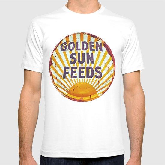 Golden Sun Feeds T-shirt