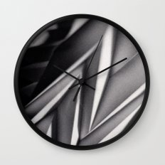 Paper Sculpture #8 Wall Clock
