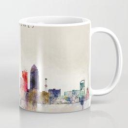 Colorful Des Moines City Skyline Coffee Mug