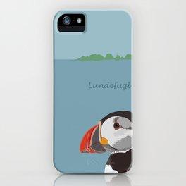 Lundefugl / Puffin iPhone Case