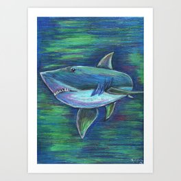 Bright Waters Art Print