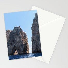 Lovers' Rock - Capri - Faraglioni Stationery Cards