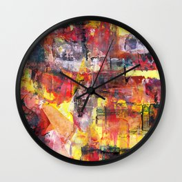 Saturday Night Wall Clock