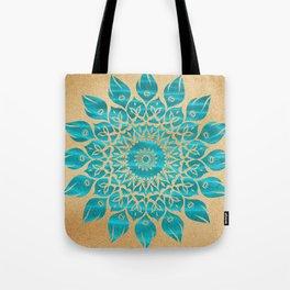 Summer Mandala Tote Bag