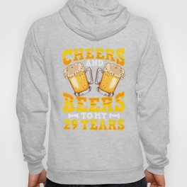 Funny Beer T-Shirt 29th Birthday For Beer Lover Gift Hoody