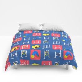 Agility Grid Comforters