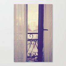 Paris Boudoir  Canvas Print