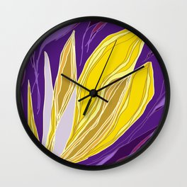 Leaflet's Descent Wall Clock