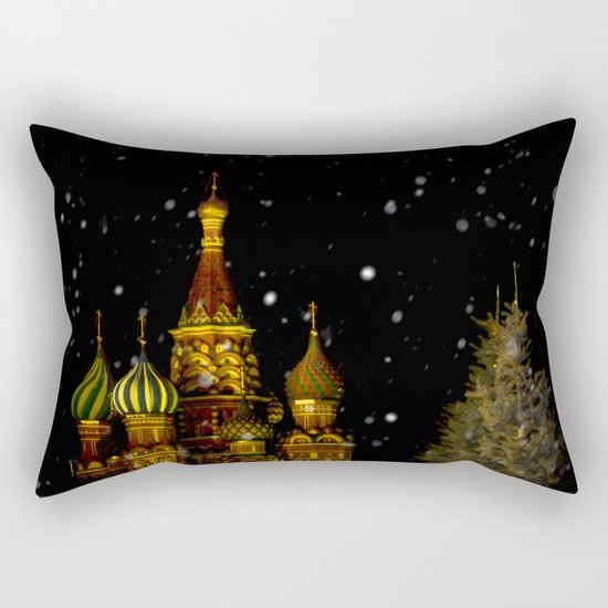 Moscow Night Rectangular Pillow