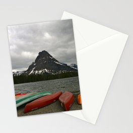 Two Medicine Lake With Sinopah Mountain Stationery Cards