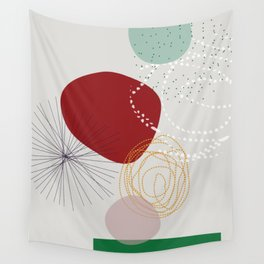 modern abstract VI Wall Tapestry