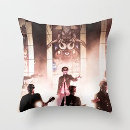 Ghost. Throw Pillow