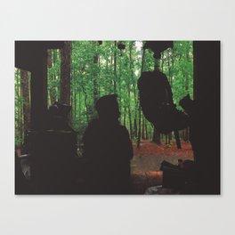 Waiting Out The Rain • Appalachian Trail Canvas Print