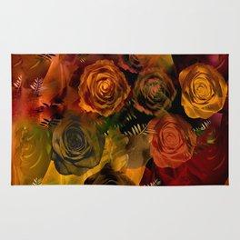 Autumn Roses Rug