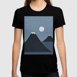 Cat Landscape 44 T-shirt