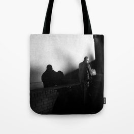 Shadowed Wanderer Tote Bag