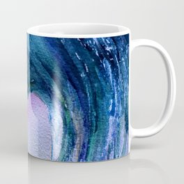 Watercolor Wave Heart Coffee Mug