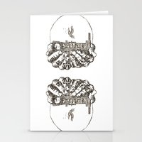 bastille Stationery Cards featuring Bastille by hardyboys