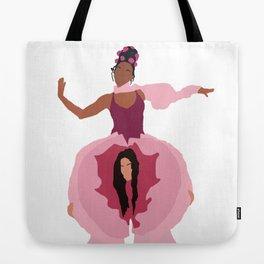 Pynk Minimalist: Janelle Monae & Tessa Thompson Tote Bag