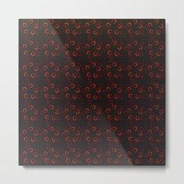 Abstract geometric pattern Metal Print