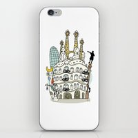 barcelona iPhone & iPod Skins featuring Barcelona by Jaume Tenes