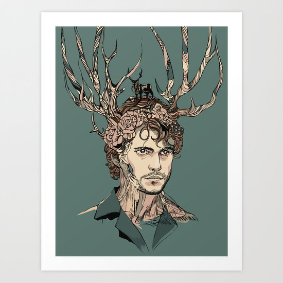 I Believe You Art Print