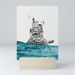 That harbour exists II Mini Art Print
