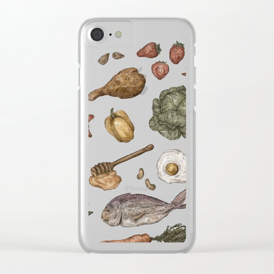 Food Clear iPhone Case