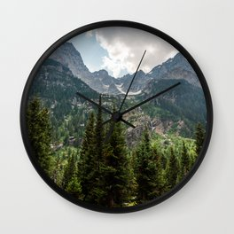 Grant Teton National Park Cascade Valley Wall Clock