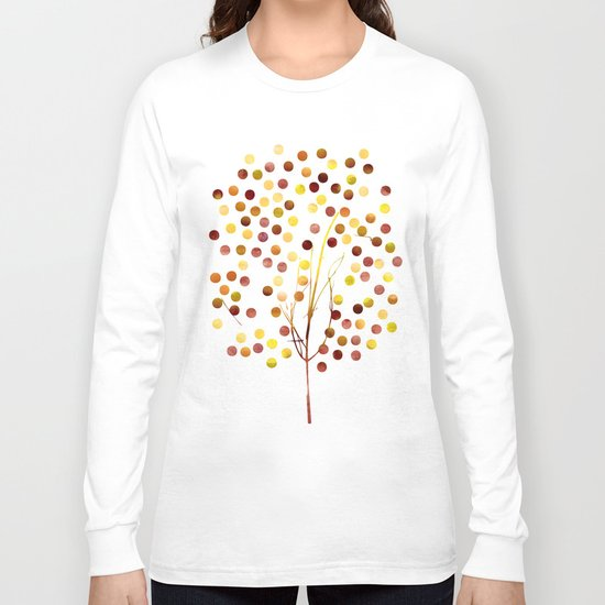 Tree of Life Amber by Jacqueline Maldonado & Garima Dhawan Long Sleeve T-shirt