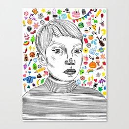 rookie Canvas Print