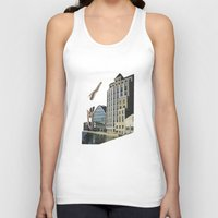naked Tank Tops featuring Naked by fabiotir