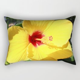 Tropical Flower Rectangular Pillow