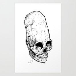 The Giant's Skull Art Print