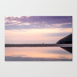 Seaside in Cornwall Canvas Print