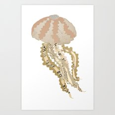 Jelly Paper #2 Art Print