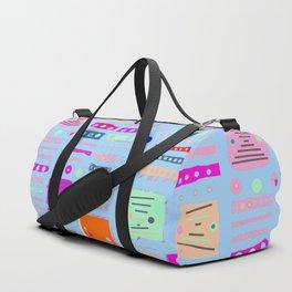Color Square 10 Duffle Bag